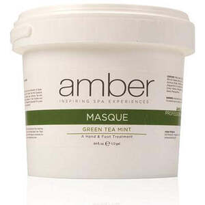 Amber® Green Tea Mint & Peppermint Calming Foot Masque / 1/2 Gallon (C4511T)