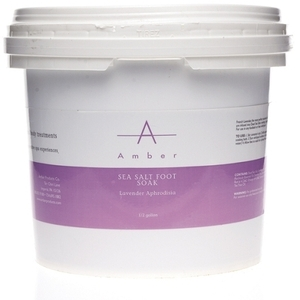 Amber® Lavender Aphrodisia Sea Salt Foot Soak / 1/2 Gallon (C4515T)