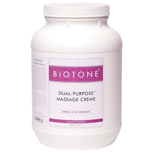 Biotone® Dual Purpose Massage Creme / 1 Gallon (C457T)