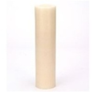 "3"" x 12"" LED Candle Holder / Ivory (C5054)"