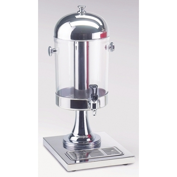 Stainless Steel Round Beverage Dispenser / 2 Gallon (C5672T)