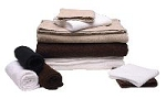"16""x28"" Hand Towel / 12 Pack / Dark Brown (C5936T)"