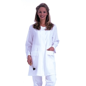 Esthetician's Jacket / White / Medium-Large (C670)