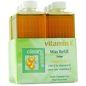 Clean + Easy Large Vitamin E Wax Refill / 6 per Pack (C7102T)