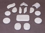 Marble Stone Set / 14 Pieces (CST54)
