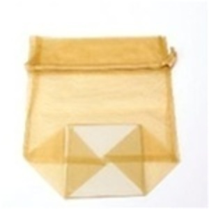 Large Organza Bag / Gold (CZ367)
