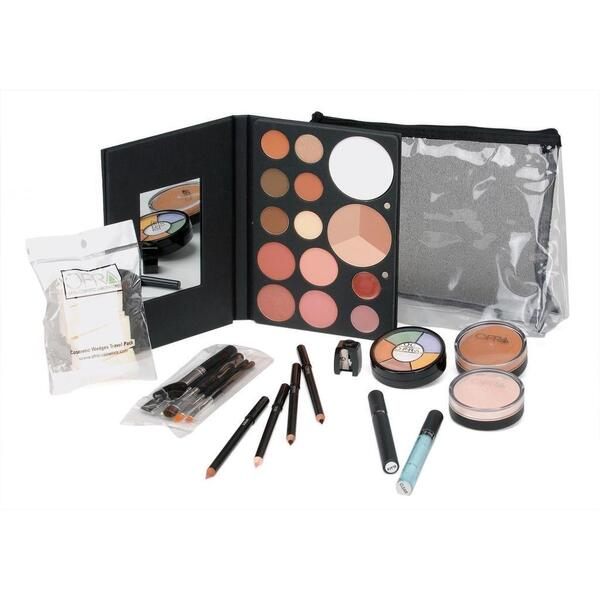 Professional Clear Bag Cosmetic Kit (K4120)