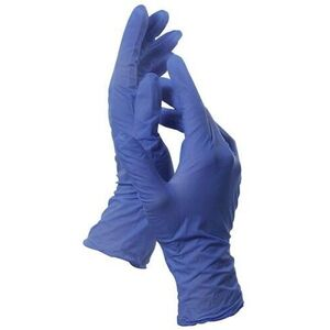 Blue Latex-Free Nitrile Gloves / 100 / Large (46641)