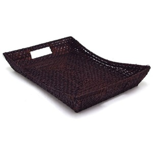 Rattan Flare Tray - Chocolate (360700)