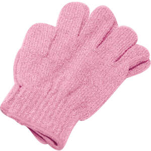 Exfoliating Massage Gloves / Pink (C1313)