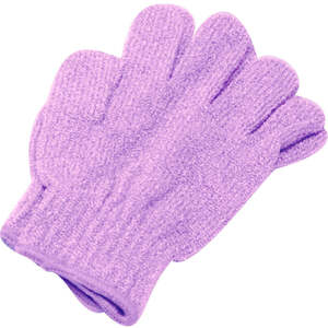 Exfoliating Massage Gloves / Purple (C1314)