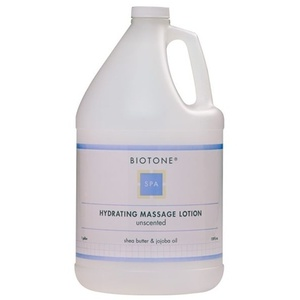 Biotone Unscented Hydrating Massage Lotion / 1 Gallon (C419T)