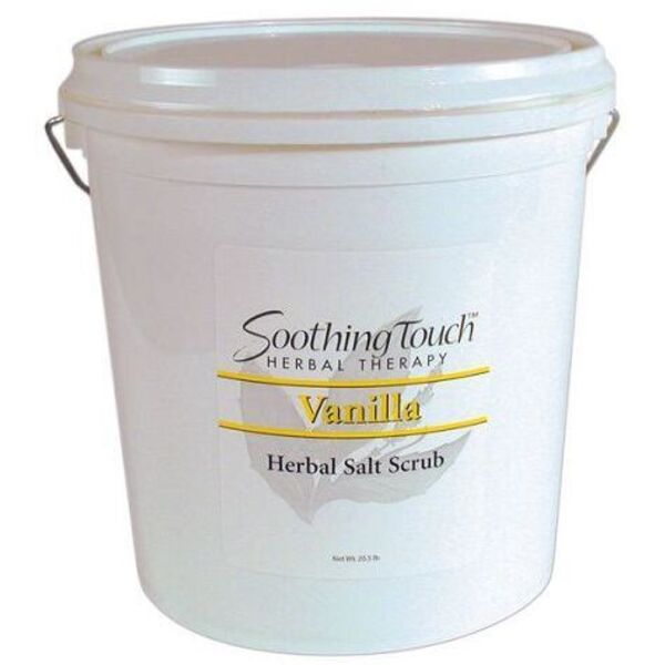 Soothing Touch Vanilla Herbal Salt Scrub / 2 Gallon (ST263)