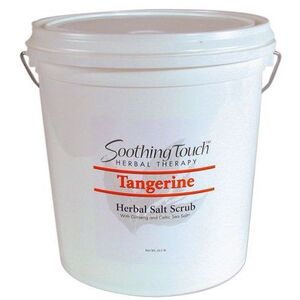 Soothing Touch Tangerine Herbal Salt Scrub / 2 Gallon (ST264)