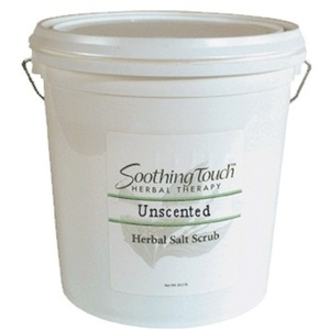Soothing Touch Unscented Herbal Salt Scrub / 2 Gallon (ST265)