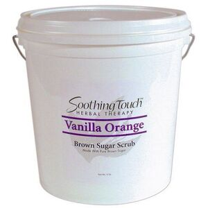 Soothing Touch Vanilla Orange Brown Sugar Scrub / 2 Gallon (ST266)