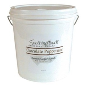 Soothing Touch Chocolate Peppermint Brown Sugar Scrub / 2 Gallon (ST269)