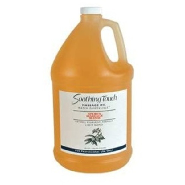 Soothing Touch Sports Massage Lite Oil / 1/2 Gallon (ST277)