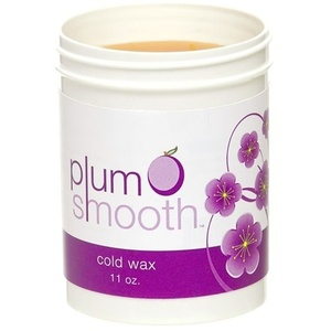 Plum Smooth Cold Wax / 11 oz