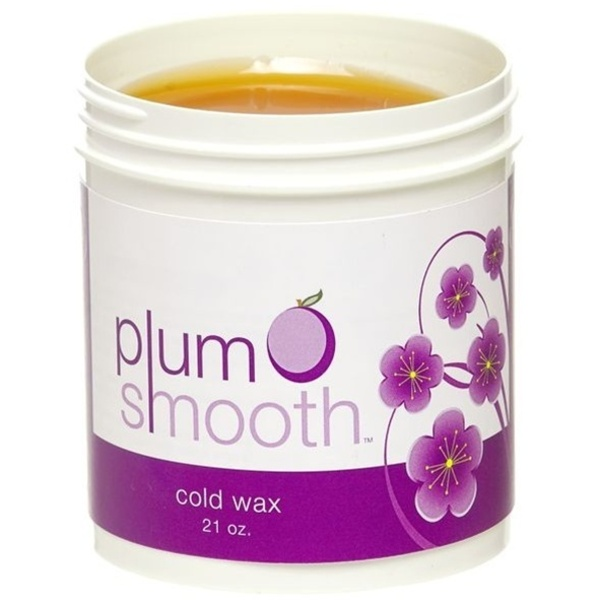 Plum Smooth Cold Wax / 21 oz