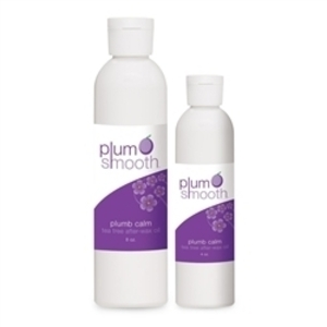 Plum Smooth Plumb Soothing After-Wax Tea Tree Oil / 8 oz.