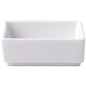 2 oz. Square Porcelain Dish (360201)