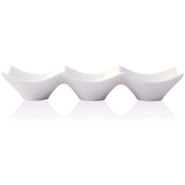 "9.5"" Triple Porcelain Origami Bowl (360223)"