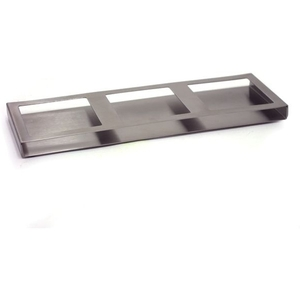 Triple Stainless Steel Dish Holder (360610)