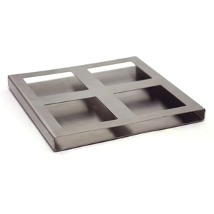 Quad Stainless Steel Dish Holder (360611)