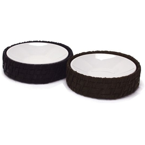 Maui Round Soap Dish with Insert - Chocolate (369101)