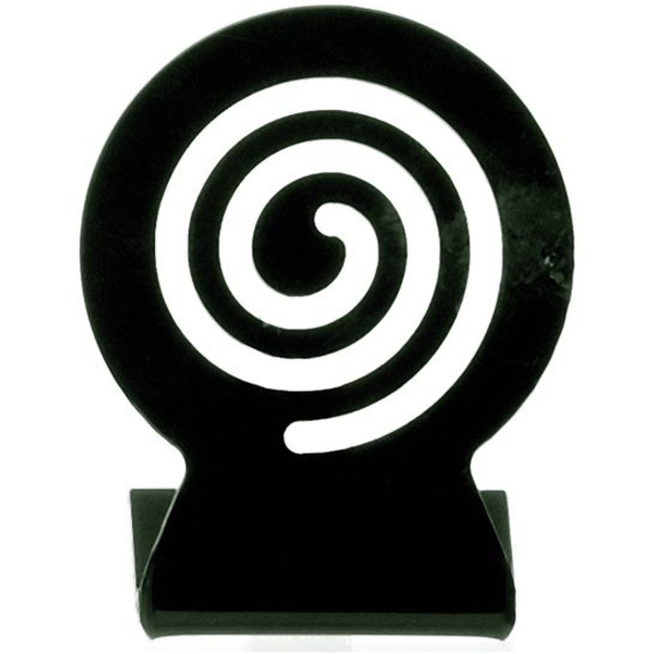 "Swirl Plastic Sign Holder 2"" (C5734T)"