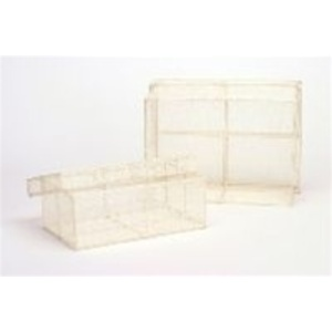 Small Rectangular Sinamay Box with Lid (C8209)
