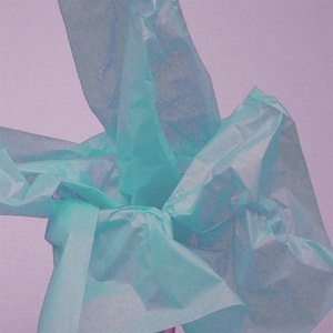 "Bright Turquoise Tissue Paper 20""x30"" 480 Sheets (CZ404)"
