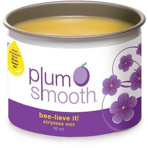 Plum Smooth™ Classic Honey Hard Wax 16 oz. Can (PSW311)
