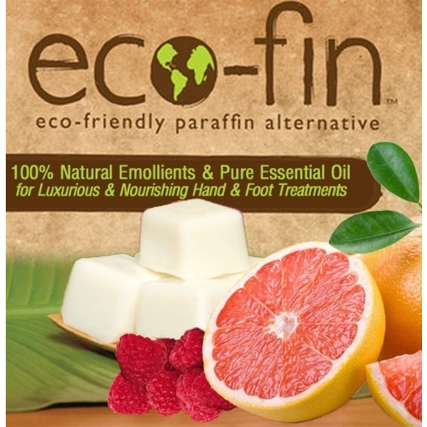 Eco-Fin™ Paraffin Alternative - Happy: Raspberry-Grapefruit Blend 1 Lb. Tray of 40 Cubes