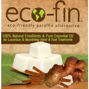 Eco-Fin™ Paraffin Alternative - Muse: Cinnamon-Ginger Blend 1 Lb. Tray of 40 Cubes