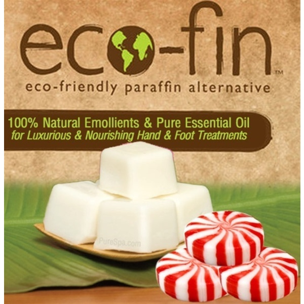 Eco-Fin™ Paraffin Alternative - Escape: Peppermint Essence 1 Lb. Tray of 40 Cubes