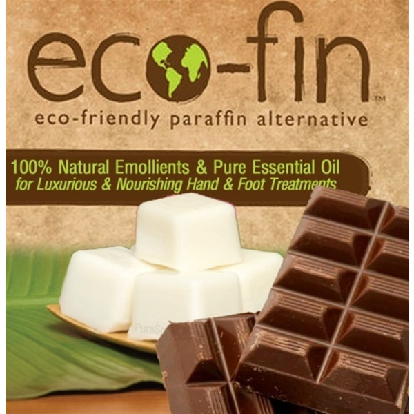 Eco-Fin™ Paraffin Alternative - Pleasure: Chocolate Essence 1 Lb. Tray of 40 Cubes