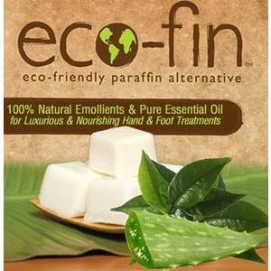 Eco-Fin™ Paraffin Alternative - Be Well: Green Tea-Aloe Blend 1 Lb. Tray of 40 Cubes
