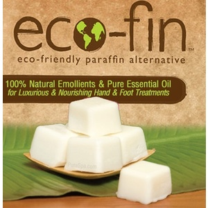 Eco-Fin™ Paraffin Alternative - Purity: Unscented 1 Lb. Tray of 40 Cubes