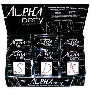 Betty Beauty Alpha Betty Display 52 Pieces