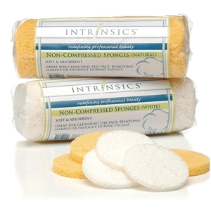 Intrinsics Non-Compressed Sponges Natural 25 Count