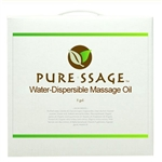 Pure-ssage Water-Dispersible Massage Oil 5 Gallons