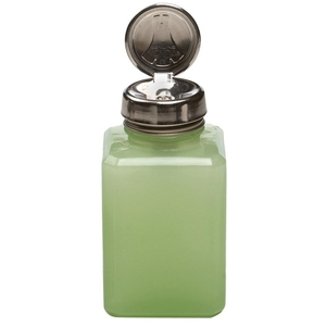 Menda One Touch Liquid Pump - Jae Green Frosted Glass 6 oz.