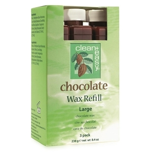 Clean+Easy® Chocolate Wax Large Refill 3 Pack