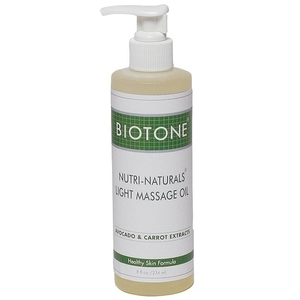 Biotone Nutri-Naturals Massage Oil 8 oz.