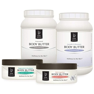 Bon Vital Spa Body Butter Unscented 1 Gallon