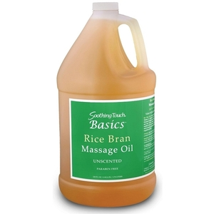 Soothing Touch Basics Rice Bran Oil 1 Gallon