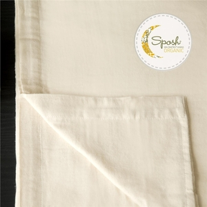 Sposh Organic Flannel Massage Sheet Set Natural