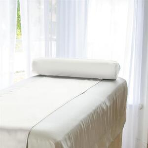 "Sposh Microsatin Bolster Cover 6"" - White Cream Coffee Roast Tea Leaf Moonstone Slate Deep Agate Blue"